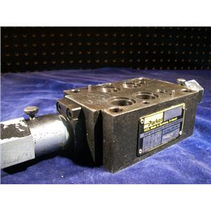 PARKER FM4DDT10, HYDRAULIC,SANDWICH STYLE FLOW CONTROL.