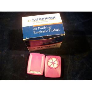Survivair LP100, Air-Purifying Respirator Lot of (8)