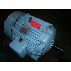 20 HP 220/440 VAC, 1170 RPM LOUIS ALLIS INDUCTION MOTOR, 326U Frame,