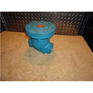 "Nicholson B-83W 2"" Cast Iron Industrial Trap, 250 PSI"