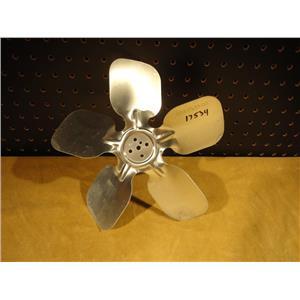 """Aluminum 10"""" 5 Blade Impeller For Fan, 5 Bolt Pattern, 083-0133-00"""