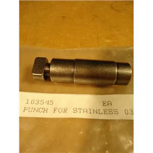Trumpf 103545 Spare Part, Punch For Stainless Steel