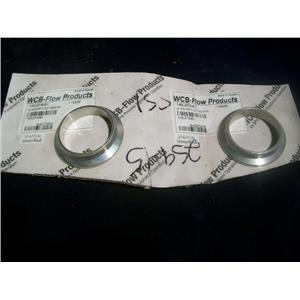 "WCB FLOW PRODUCTS S14WMP-7, 2"" CUP SEAL LOT OF (2)"