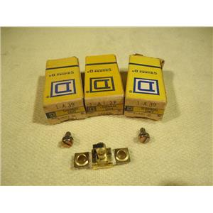 Square D 1-A.39 Overload Relay Thermal Unit, Lot of 3