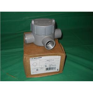 "KILLARK GECTT-3, 1"", 3-WAY CONDUIT OUTLET BODY, FOR HAZARDOUS LOCATIONS"