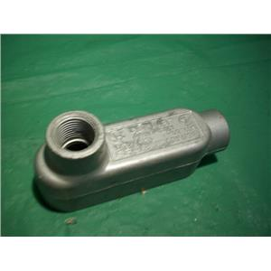 "CROUSE HINDS LB19, (2) 1/2"" NPT HUB, CONDULET OUTLET BODY"