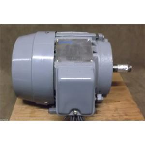 New Sterling 1 HP Electric Motor, KB0012FFA, 208-230/460V, 3460 RPM, 143T Frame