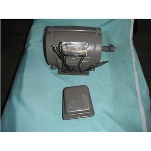 TOSHIBA B3/48DLF2AK, 3/4 HP. HIGH EFFICIENCY INDUCTION ELECTRIC MOTOR #216