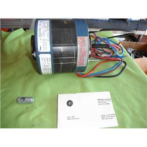 WESTINGHOUSE E326P118, 1/10 HP. ELECTRIC MOTOR# 221
