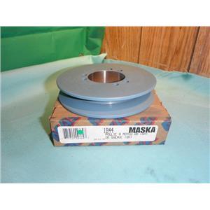 "MASKA 1B44 1-7/8"" SINGLE BELT SHEAVE PULLEY FOR USE WITH QD (SH) BUSHING"