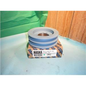 MASKA 2B52, DOUBLE BELT SHEAVE PULLEY FOR USE WITH QD (SDS) BUSHING