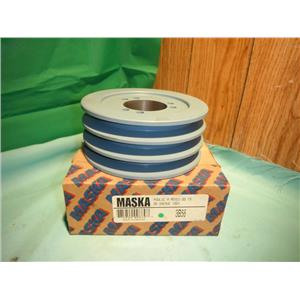 MASKA 3B56, TRIPLE BELT SHEAVE PULLEY FOR USE WITH QD (SD) BUSHING