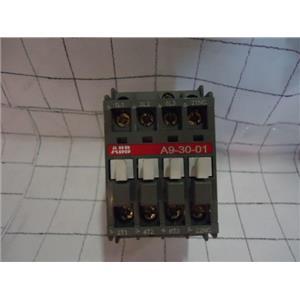 ABB A9-30-01 Contactor, 110V Coil
