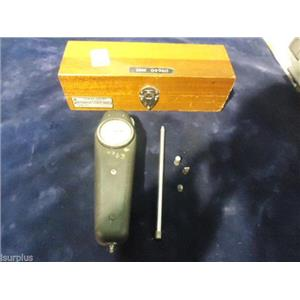 HUNTER SPRING AMETEK SPRING MECHANICAL FORCE GAUGE L-1000M With wood box