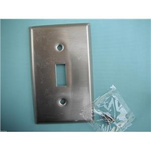 Standard Size Wallplates -#93071 Stainless Steel Blank-Box Mounted