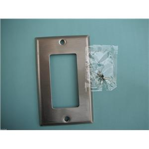 Standard Size Wallplates - #93934 Stainless Steel Blank-Box Mounted