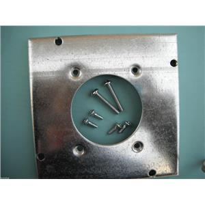 Standard Size Wallplates - #RSL Stainless Steel Blank-Box Mounted