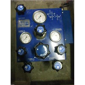 Scott Specialty Gases Model: 8303 Valves and Gauges