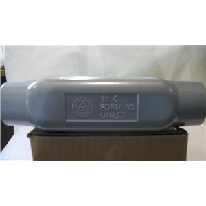Appleton APP C100-A  Form 85 Aluminum Conduit Body (Lot of 5)