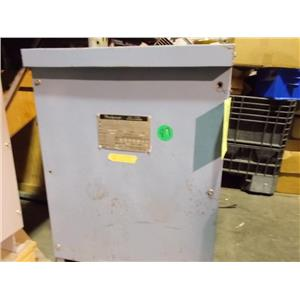 Jefferson Electric Transformer 75 KVA / Cat.No. 223-001-798 H 208/120 L 208/120