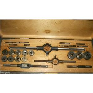 27 Piece Assorted Tap and Die Set