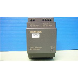 Siemens LOGO!Power Supply Model No. 6EP1321-1SH02