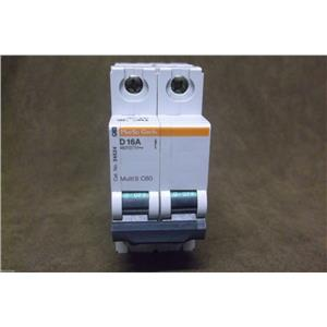 Merlin Gerin/Schneider Miniature Circuit Breaker Cat.No. 24524 16 Amp Type D