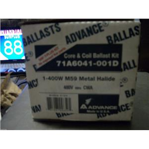 ADVAMCE CORE & COIL BALLAST KIT 71A6041-001D