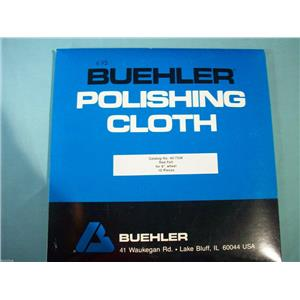 "BUEHLER POLISHING CLOTH 40-7358 RED FELT FOR 8"" WHEEL 10 PCS."