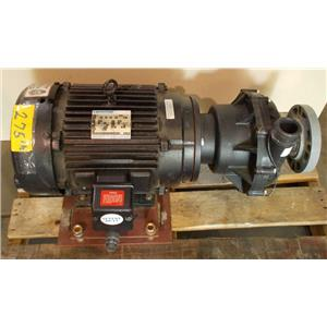 Marathon Severe Duty Motor 10 Hp w/ Chemical Rest. Pump Part# 3VM 215TTFS8309BPL
