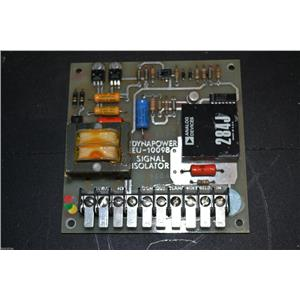 DYNAPOWER EU-10098 SIGNAL ISOLATOR BOARD USED