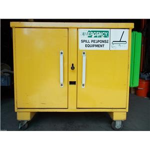 Spill-X Emergency Spill Kit and Storage Cabinet