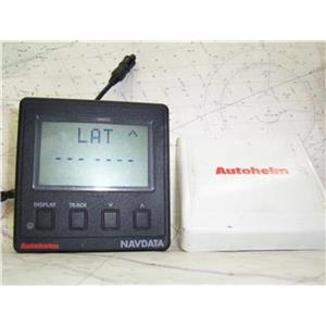 Boaters' Resale Shop of TX 1305 1557.01 AUTOHELM NAVDATA DISPLAY Z146 WITH COVER