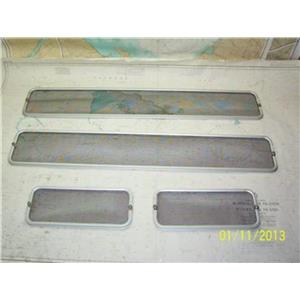Boaters' Resale Shop of Tx 1310 0106.14--J 105 FOUR OPENING PORTLIGHT SCREEN SET
