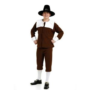 Peter Alan Pilgrim Man Deluxe Adult Costume Size Medium Up to 42 chest