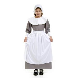 Peter Alan Pilgrim Girl Deluxe Child Costume Size Large 12-14