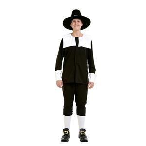 Peter Alan Pilgrim Boy Deluxe Child Costume Size Medium 8-10