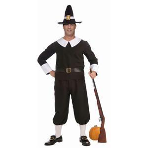 Pilgrim Man Plus Size Adult Costume