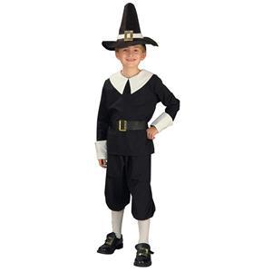 Forum Novelties Pilgrim Boy Child Costume Size Medium 8-10