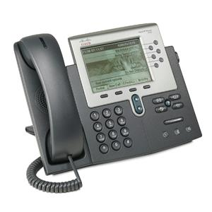 Cisco CP-7962G 7962G 6 Button SCCP VoIP PoE Phone Stand HandSet