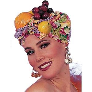 Latin Lady Carmen Miranda Fruit Headpiece