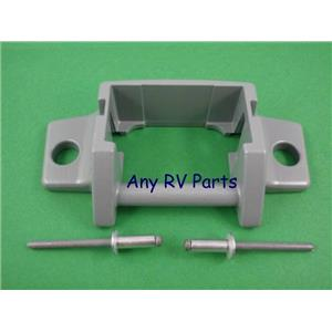 Dometic 3310811.009M A&E Awning Lower Arm Bracket Foot with Rivets 3108708342