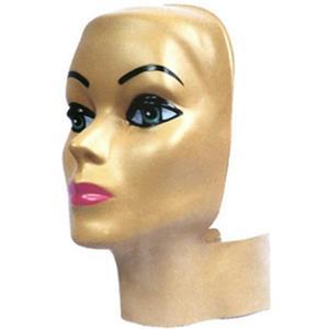 Female Adult Styro Head Headform Face Display Cover