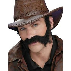 Brown Civil War Wild West General Burnside Self Adhesive Beard