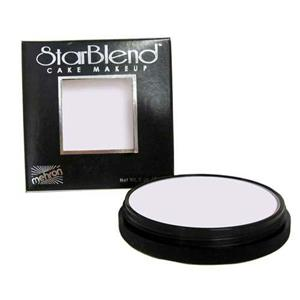 Mehron StarBlend Cake Foundation Professional Makeup Alabaster 2oz