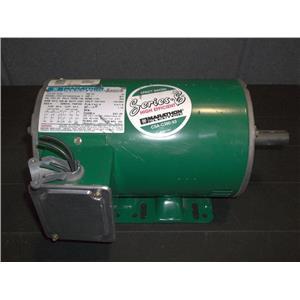 Marathon Electric 1hp Motor USED E728, 7/8 DIAMETER, 2 1/4 SHAFT