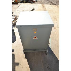 UPTEGRAFF DFTV 30KVA 3PH TRANSFORMER 480V DELTA TO 208Y/120V