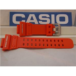 Casio Watch Band GX-56 GXW-56 Orange Mud Resist Resin G-Shock Strap Watchband