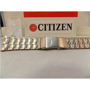 Citizen Watch Band BJ2105 Bracelet Steel Silver Color w/Attaching Pins