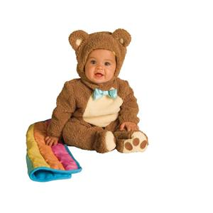 Oatmeal Bear Deluxe Jumpsuit Costume 12-18 months